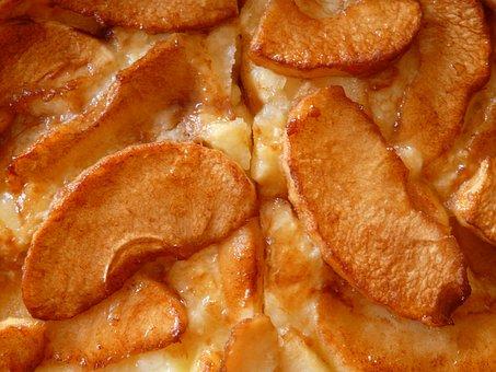 アップルパイ, アップル, ケーキ, フルーツ, 甘い, デザート, 朝食