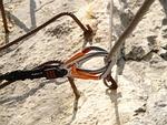carbine, rope, hook