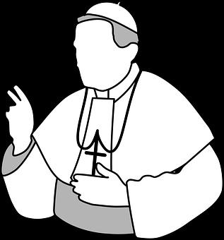 Papst, Kirche, Gott, Glaube