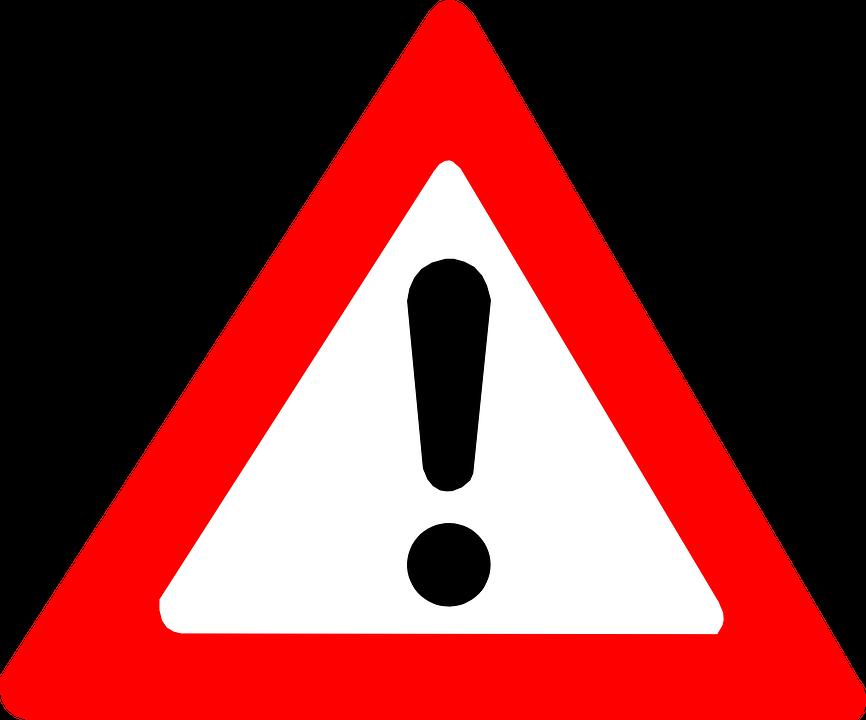 Vorfahrt-Achten-Schild, Schild, Straßenschild, Gefahr