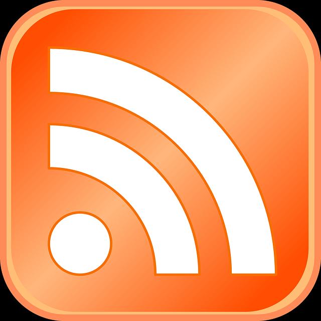 illustration gratuite  rss  flux rss  symbole  logo  ic u00f4ne - image gratuite sur pixabay