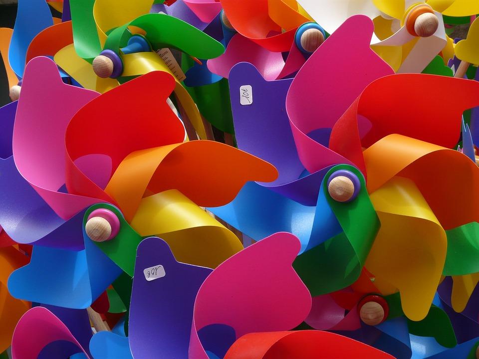 Bekannt Windrad Windräder Bunt - Kostenloses Foto auf Pixabay PF91