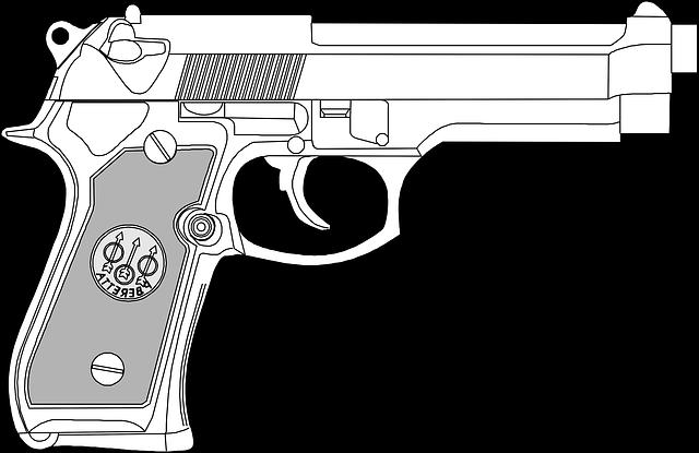 kostenlose illustration pistole schusswaffe gef hrlich. Black Bedroom Furniture Sets. Home Design Ideas