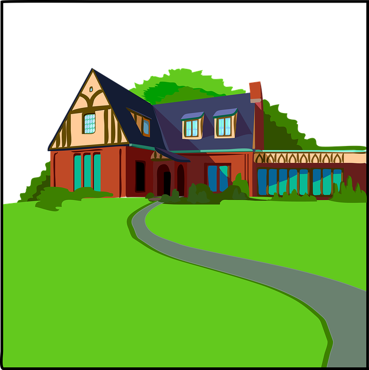 Free Illustration Home Country House Residence