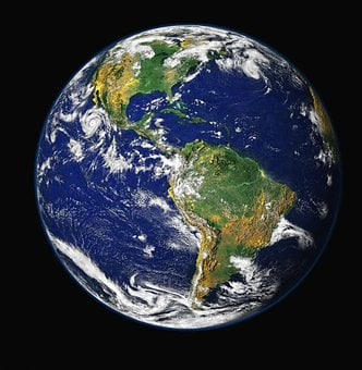 Earth, Blue Planet, Globe, Planet, World