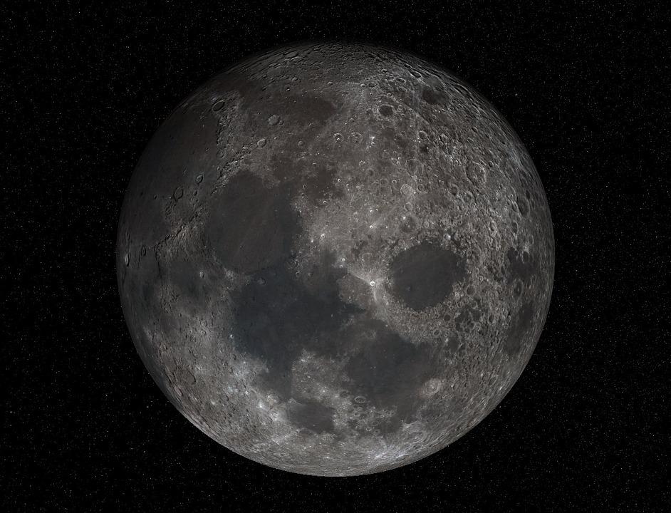 Favori Photo gratuite: Lune, Pleine Lune, Cratère, Maare - Image gratuite  LM61