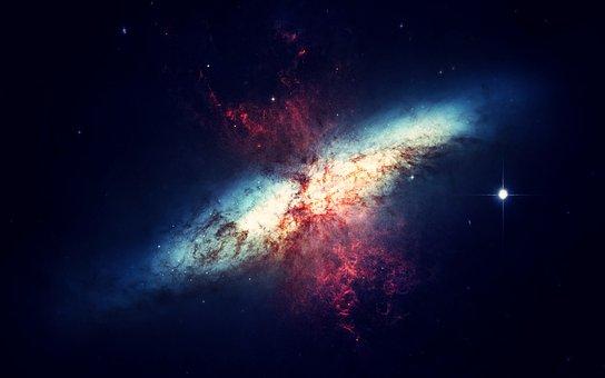 Galaxie, Espace, Univers, Ciel De Nuit