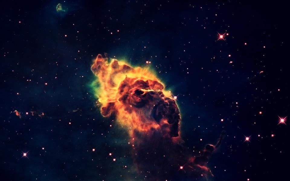 Space, Universe, Night Sky, Sky, Fog, Star, Gases