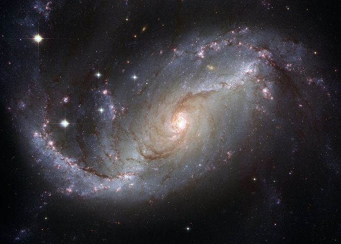 Galaxy, Starry Sky, Star, Ngc 4414