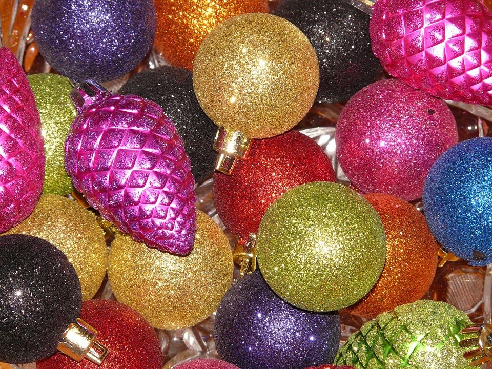 Christbaumkugeln Magenta.Glaskugeln Sparkle Free Photo On Pixabay