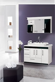 Cabinet Bathroom Environment 3D Bathroon C