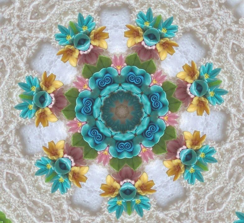 Blumen Muster Häkeln Kostenloses Bild Auf Pixabay