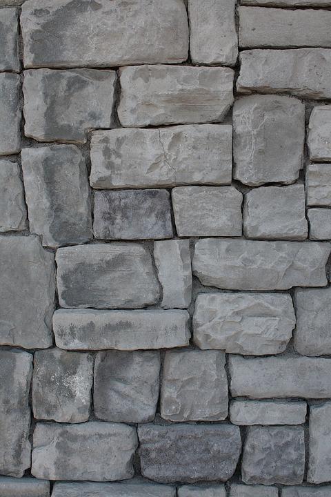 Kostenloses Foto: Stein, Wand, Grau, Ziegel - Kostenloses Bild Auf