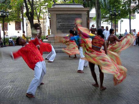 Dancers, Colombia, Brazil, Vacation