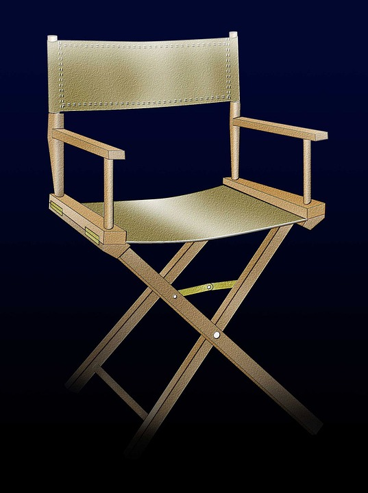 Folding Directors Chairs Buy Personalised · Public Domain