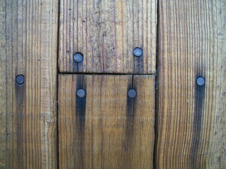 Wood Board Boards Nails Rust Rusty Plank Planks
