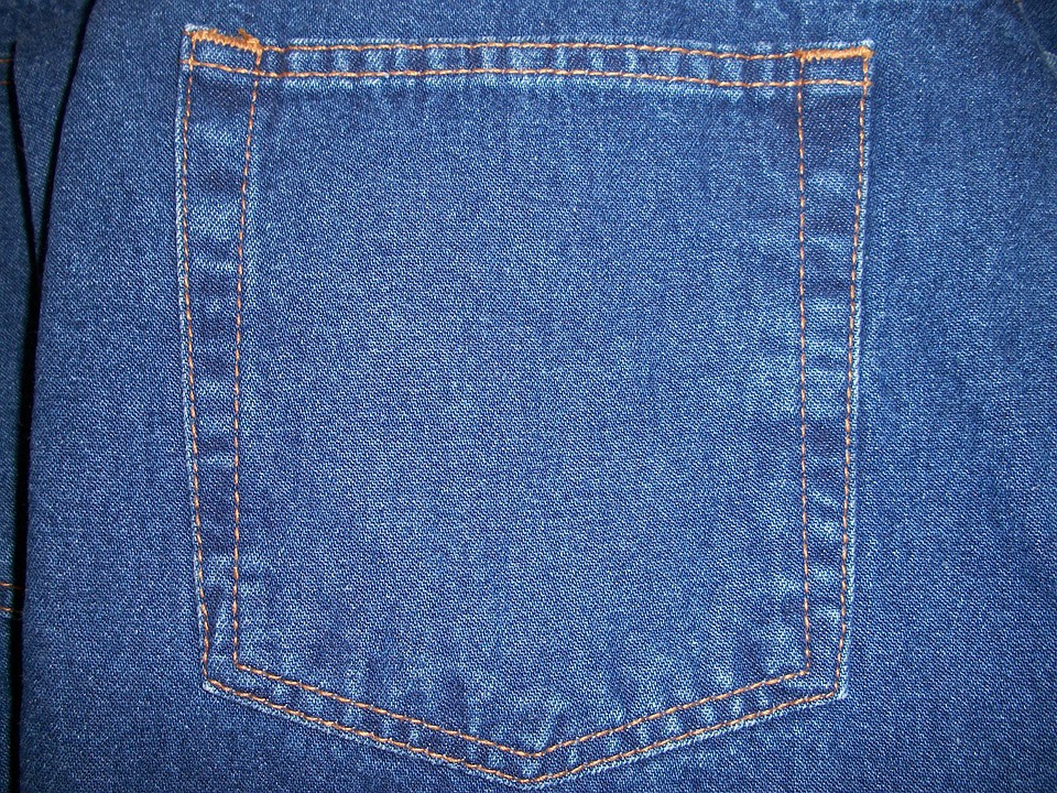 Free photo Jeans Rear Pocket Back Pocket - Free Image on Pixabay - 14592