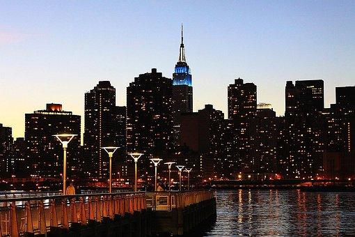 New York City Skyline Building Tower