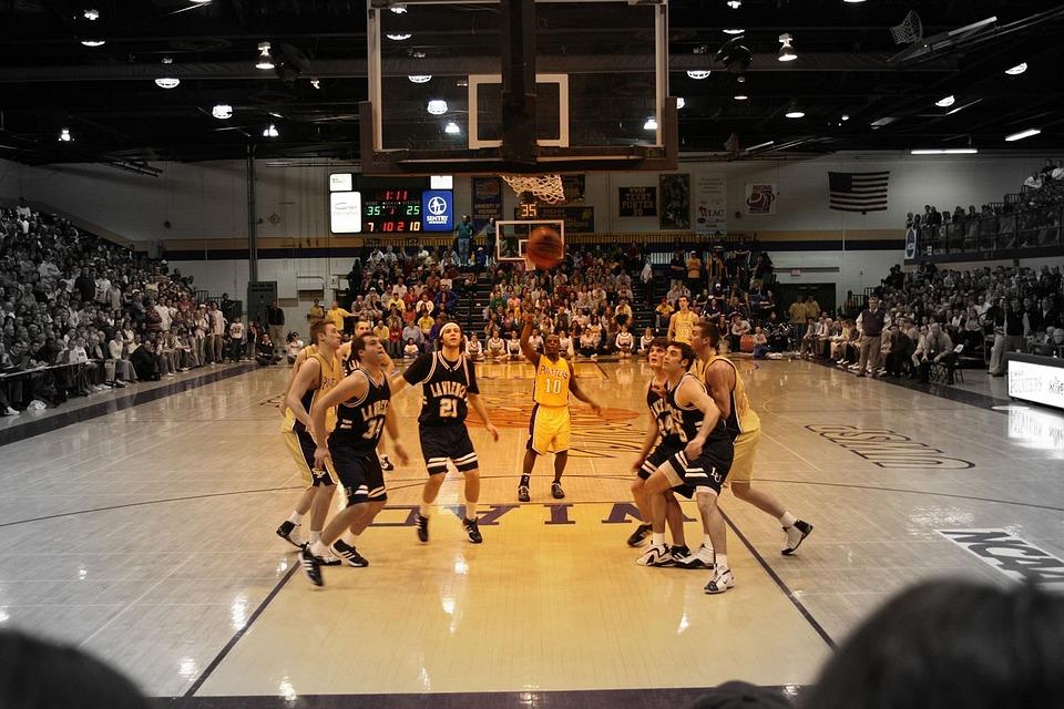 basketball spil