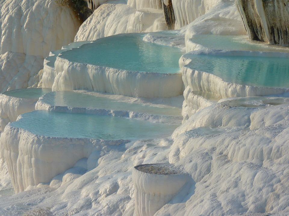 Pamukkale, Kalk Sinter Terras, Calcium, Unesco