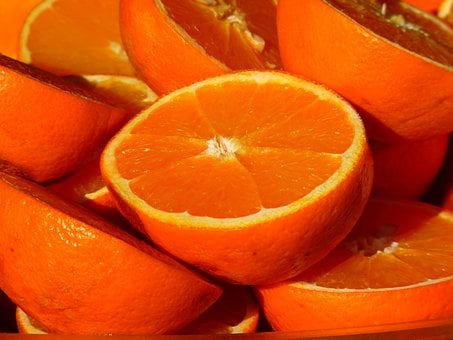 Orange Fruit Vitamins Fruits Citrus Fruits
