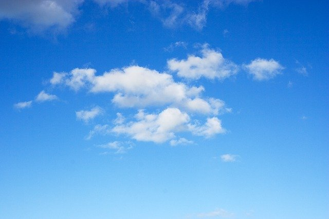 Sky Blue Cloud · Free Photo On Pixabay