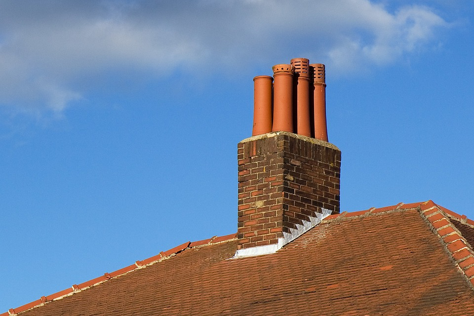 Free Photo Chimney Roof Part House Bricks Free