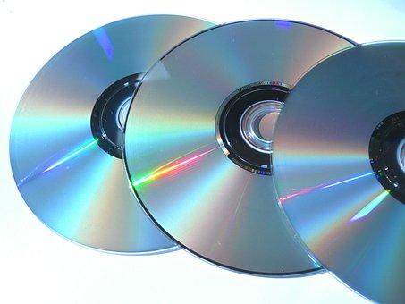 コンピュータ, パソコン, オブジェクト, Dvdリー, Dvdの, メディア