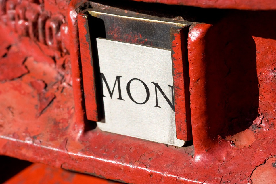 Postbox, British, Red, Monday, Post, Letter, Red Email