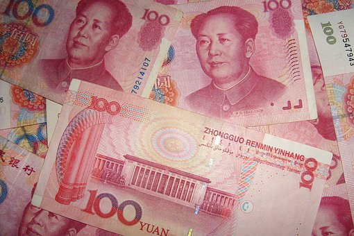 Chinese, Currency, Money, Yuan, Mao
