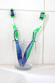 Bathroom Brush Care Clean Cup Dental Equip