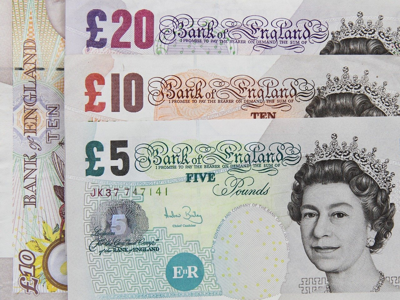 Bank, Banking, Banknote, Britain, British, Business