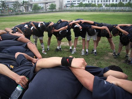 Teammate Rugby Circle People Team Sport Ba