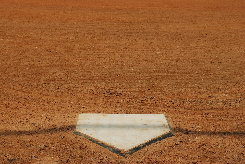 ホーム, プレート, ボール, 野球, フィールド, スポーツ, ゲーム, 機器, 再生, ベース, 競争
