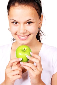 Apple, Diet, Finger, Food, Fruit, Green
