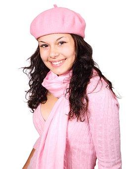 Cold Cute Face Fashion Female Girl Happy H