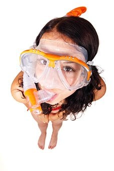 Cute, Dive, Fun, Goggles, Joy, Mask