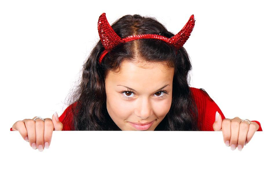 costume demon devil board female girl halloween  sc 1 st  Pixabay & Costume Demon Devil · Free photo on Pixabay