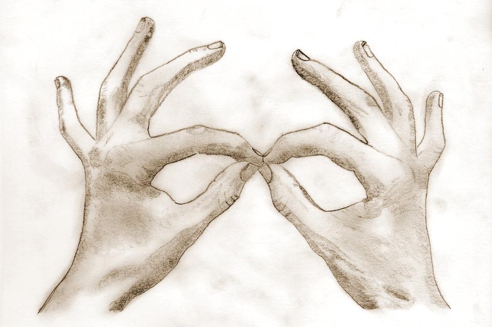 Sanat çizim El Pixabayde ücretsiz Resim