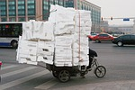 tricycle, cargo, carrier