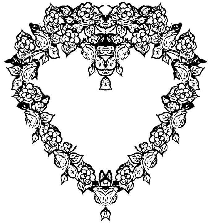 Schwarz Weiß Herz · Kostenloses Bild auf Pixabay