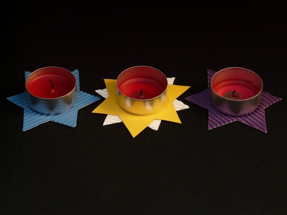 Teelichter Basteln teelichter basteln sterne kostenloses foto auf pixabay