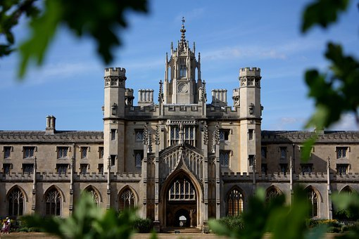 Old, Building, Castle, Cambridge