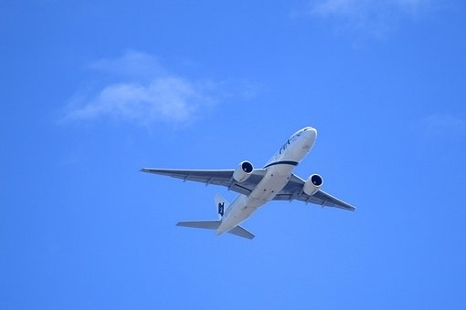 Avión, Aire, Aviación, De Carga, Motor