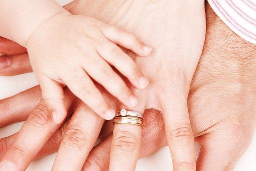 Child, Concept, Family, Finger, Girl