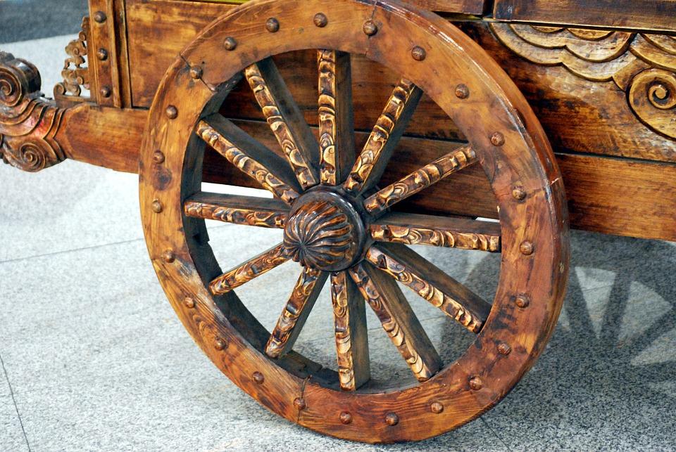 Free Photo Wheel Wheels Round Wooden Wood Free