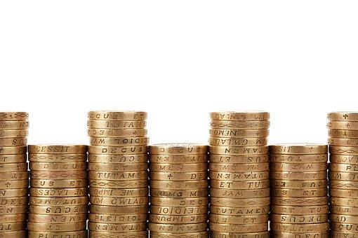 Geschäft, Bargeld, Münze, Konzept