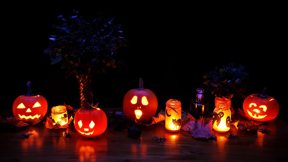 Dark, Decoration, Fall, Glow, Glowing, Halloween