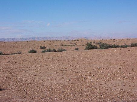 Desert, Algeria, Rustic, Landscape
