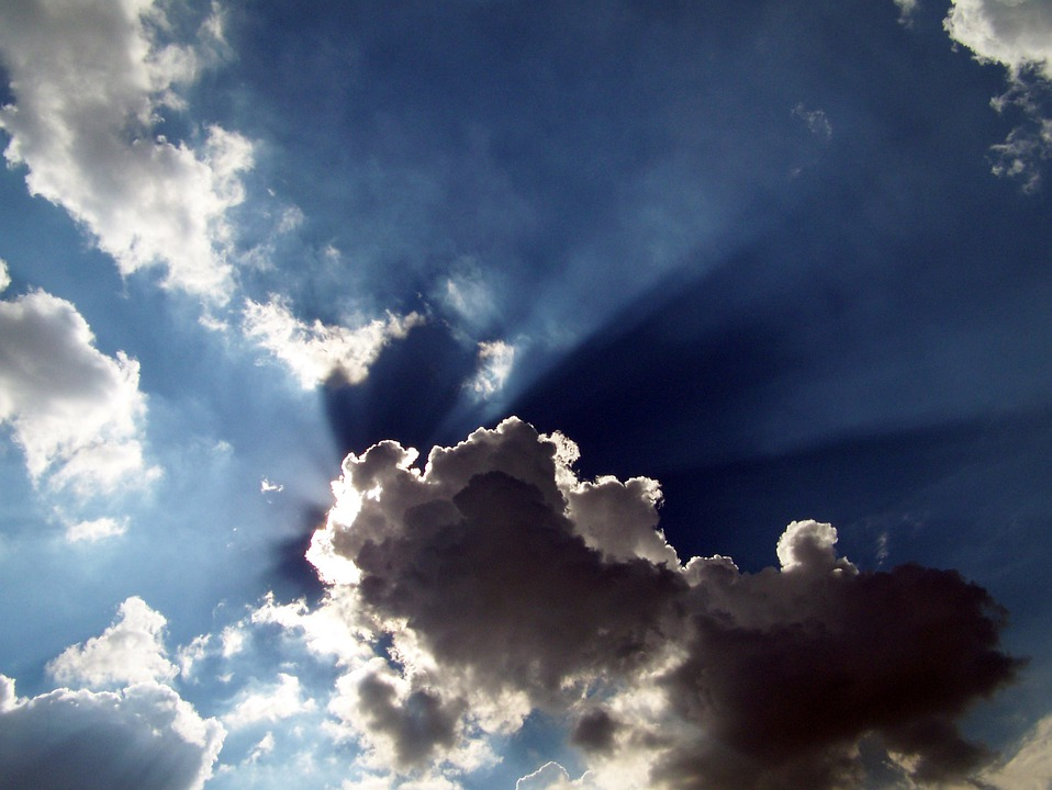 The Dark Lining To Silver Cloud In >> Clouds Sky Sun · Free photo on Pixabay